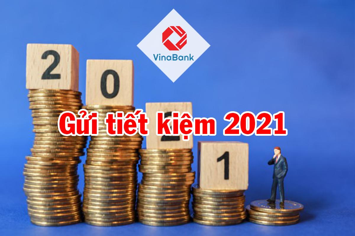 Lãi suất gửi tiết kiệm ngân hàng mới nhất 2021